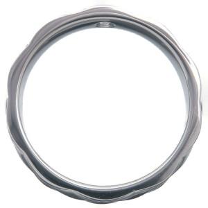 Authentic CHANEL Matelasse Ring 1P Diamond Medium Platinum #48 US4.5 Used F/S