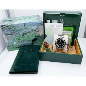 Rolex Sea Dweller 16600 Black Dial Stainless Steel Watch