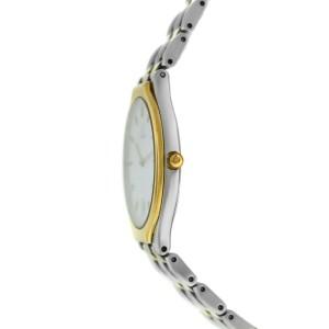 Omega DeVille 396.1016 Gold Stainless Steel Date Quartz Unisex 32MM Watch