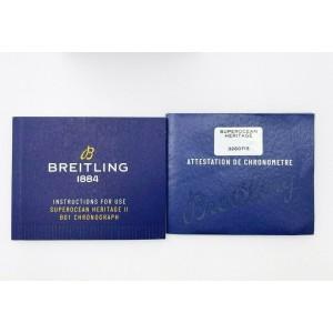 Breitling AB0162 Blue Superocean Heritage II B01 Chronograph