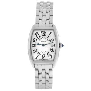 Franck Muller Curvex 1752QZ Stainless Steel Quartz 25MM Watch