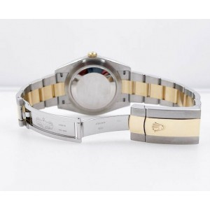 BRAND NEW Rolex 126333 Datejust 41 Slate Wimbledon Dial 18K Gold Steel 2020