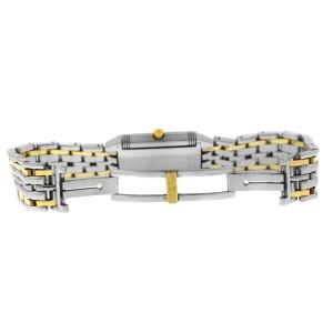Jaeger-Lecoultre Reverso 260.5.08 18K Yellow Gold Steel 20MM Quartz Watch