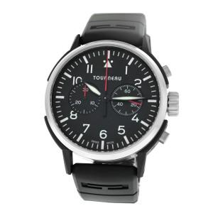 Tourneau TNY Aviator TNY0100021 Chronograph Men's Steel PVD 44MM Automatic Watch