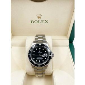 Rolex Submariner 16610 Black Dial Stainless Steel REHAUT 2008