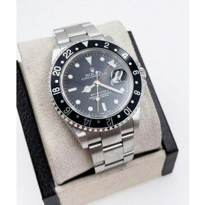 Rolex GMT Master II 16710  Black Dial Stainless Steel