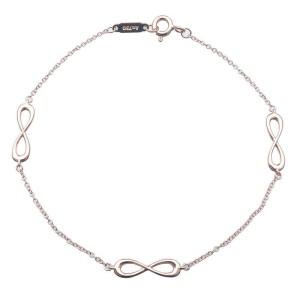 Authentic Tiffany&Co. Infinity Endless Bracelet