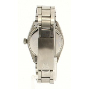 Rolex Oyster Precision Stainless Steel Manual Wind 34mm Watch Ref: 6480