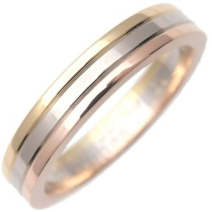 Authentic Cartier Three Color Ring
