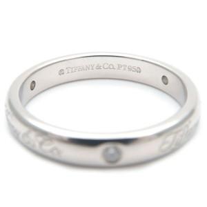Authentic Tiffany & Co. Notes Lucida 3P Diamond Ring