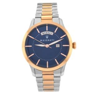 Maserati Tradizione R8853125001 Rose Gold Steel Day Date Quartz 40MM Watch