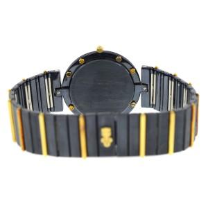 Corum Clipper Club  93425-31V36 Ladies 18K Gold Ceramic Quartz 32MM Watch