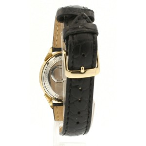 ACCUTRON 214 SPACEVIEW STAINLESS STEEL GOLD PLATED MAN'S WATCH M5