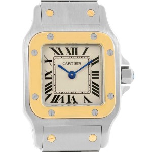 Cartier Santos Galbee W20012C4 24mm Womens Watch