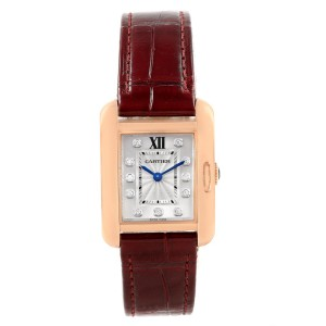 Cartier Tank Anglaise WJTA0007 23mm Womens Watch