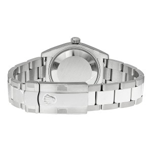 Rolex Datejust Steel Silver Stick Dial 31mm Watch