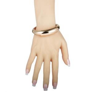 de Grisogono 18K Rose Gold Bangle Bracelet. Size L