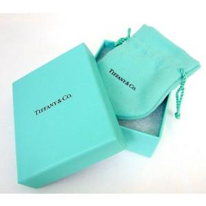 Tiffany & Co. White Gold Diamond Heart Key Pendant Necklace