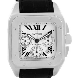 Cartier Santos W20090X8 42mm Mens Watch
