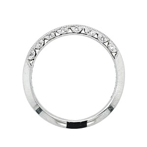 Tacori Platinum Diamond Ring