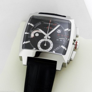 Tag Heuer CAL2110.fc6257 Monaco LS Chronograph Watch