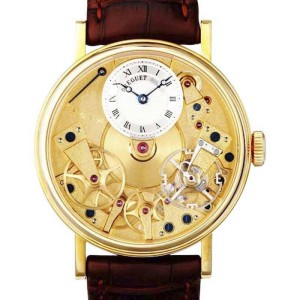 Breguet  7027ba/11/9v6 La Tradition 18K Yellow Gold Manual Wind Watch