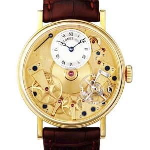 Breguet  7027ba/11/9v6 La Tradition 18K Yellow Gold Manual Wind Watch