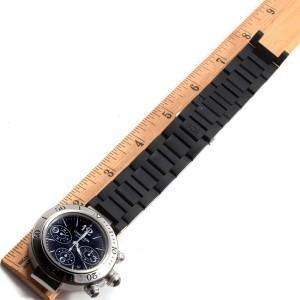 Cartier Pasha Seatimer W31088U2 41.5mm Mens Watch