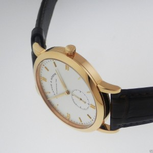 A. Lange & Sohne Saxonia 380.032 Automatic 18K Rose Gold Watch