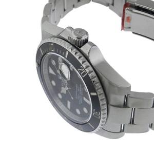 Rolex Submariner 116610 LN Stainless Steel Ceramic Bezel Black Dial Watch