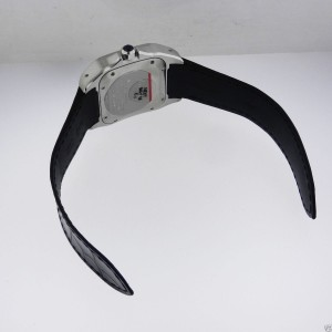 Cartier Santos 100 w20106x8 Midsize Automatic Stainless Steel Watch