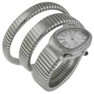 Bvlgari Bulgari Serpenti SP35C6SDS.2T Stainless Steel Watch