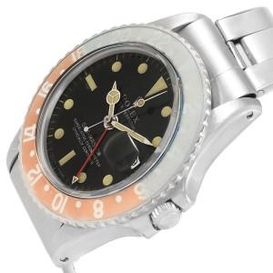 Rolex GMT Master 1675 Vintage 40mm Mens Watch