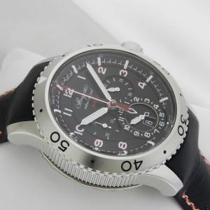 Breguet 3880st/h2/3xv Transatlantique Type XXII Flyback 10Hz 44mm Watch