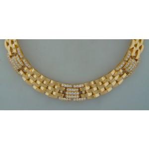 Cartier Rhodes Diamond Yellow Gold Necklace
