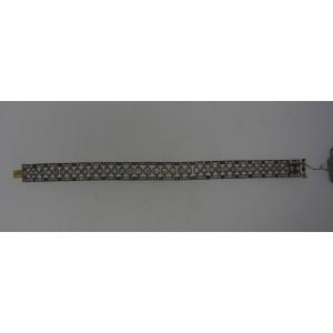 Tiffany & Co. Platinum Antique Edwardian Diamond Bracelet