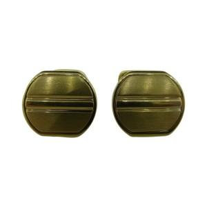 Piaget 18k Yellow Gold Cufflinks
