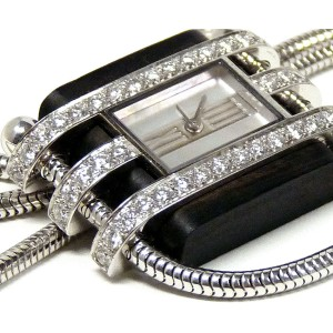 Van Cleef & Arpels Pendant Diamond Watch Art Deco Style