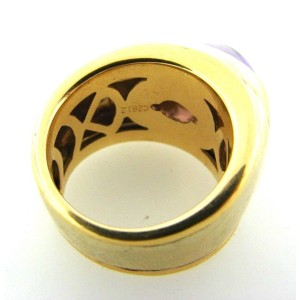 Marina B. 18k Yellow Gold/White Gold & Amethyst Ring