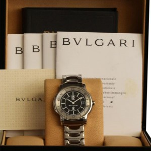 Bulgari Solotempo ST35S Stainless Steel 35mm Watch