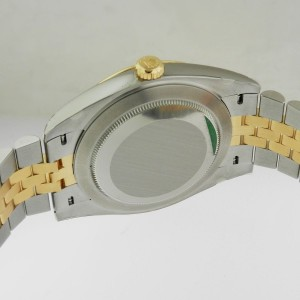 Rolex Datejust 126333 41 18K Yellow Gold & Stainless Steel Jubilee Champagne Mens Watch