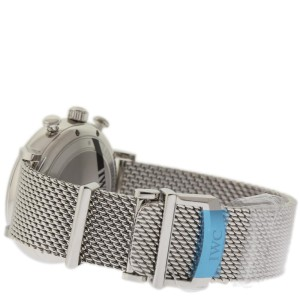 IWC Portofino IW391010 Chronograph Stainless Steel Black 42mm Watch