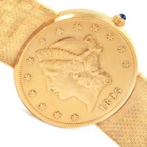 Corum 20 Dollars Double Eagle 18246 36mm Mens Watch