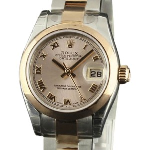 a7211cd55d7 Rolex Datejust 179161 Stainless Steel & 18K Pink Gold Pink Roman Dial  Automatic 26mm Womens Watch | Rolex | Buy at TrueFacet