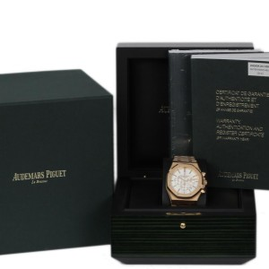 Audemars Piguet Royal Oak 26320OR.OO.1220OR.02 18K Rose Gold Automatic 41mm Mens Watch