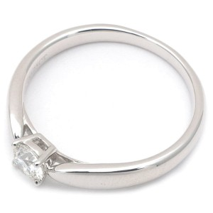 Tiffany & Co. Platinum with 0.25ct. Harmony Diamond Ring Size 5.5