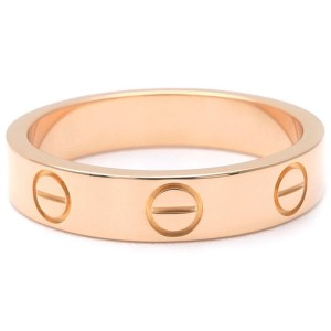 Cartier Love 18K Rose Gold Ring Size 4.5