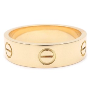 Cartier Love 18k Yellow Gold Ring Size 9.5