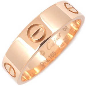 Cartier Love 18k Rose Gold Ring Size 10.25