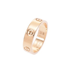 Cartier Love 18K Yellow Gold Ring Size 9